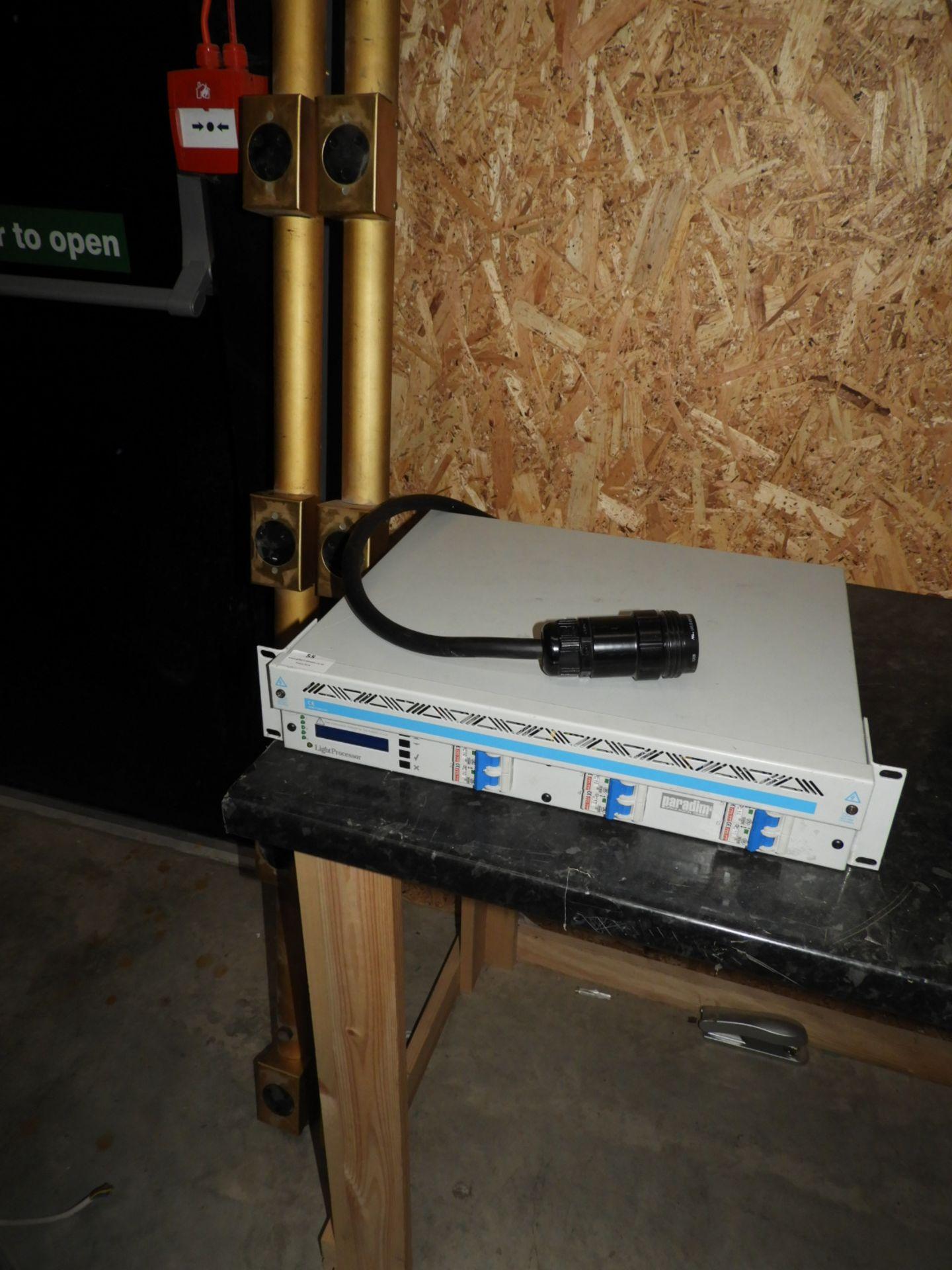 Lot 55 - *Light Processor Paradigm Q-Pack Digital Dimmer wi