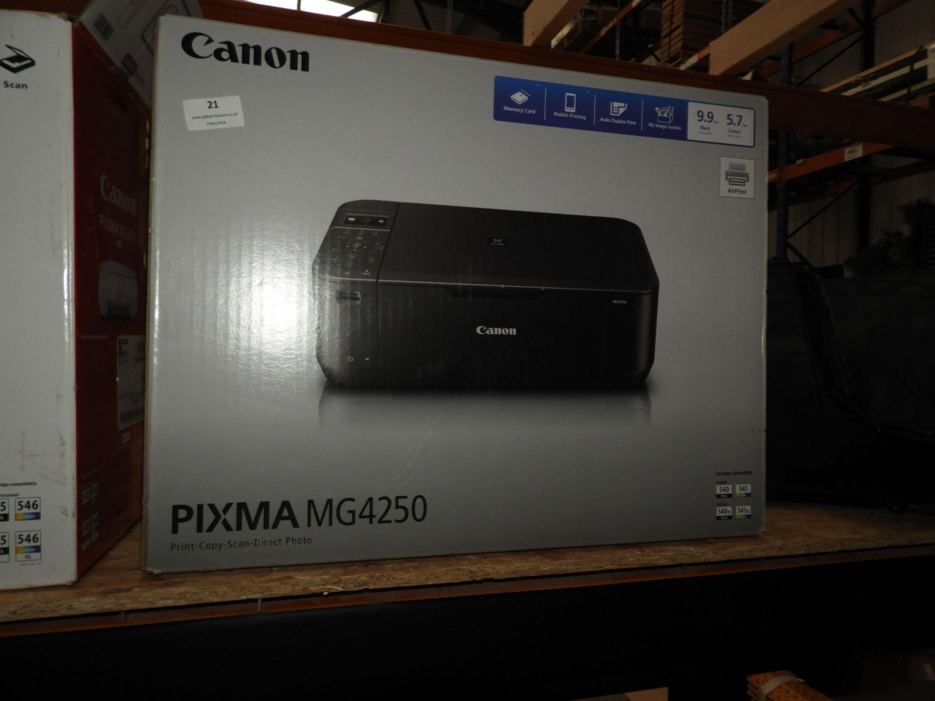 Lot 21 - *Canon Pixma MG4250 Printer