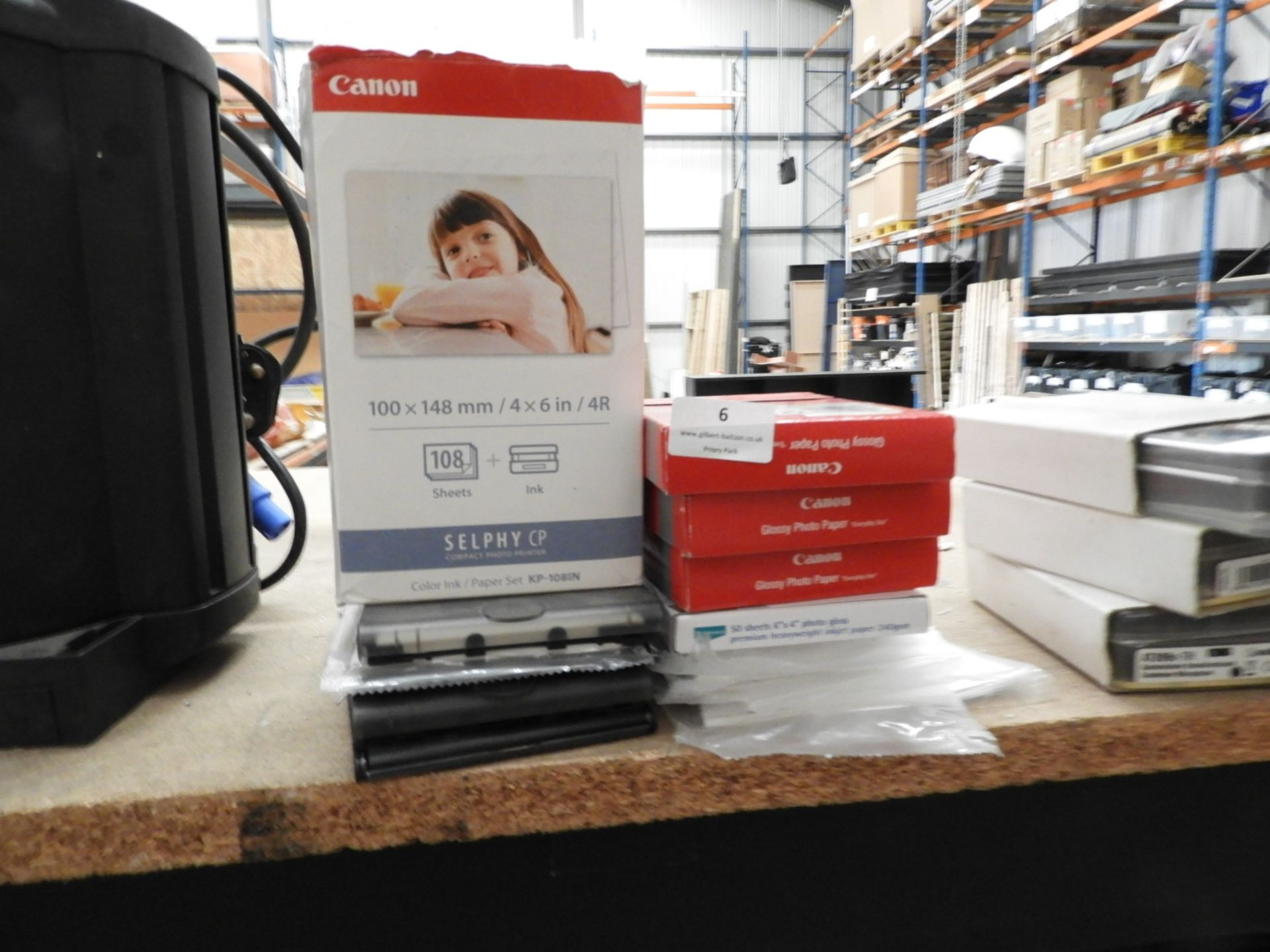 Lot 6 - *Quantity of Can and Other Photo Paper 100x148mm