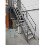 Lot 2 - *Aluminium Access Staircase with Landing
