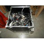 Lot 54 - *Aluminium Wheeled Flight Case Containing Assorted
