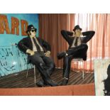 Lot 13 - *Life Size Fibreglass Figures - The Blues Brothers