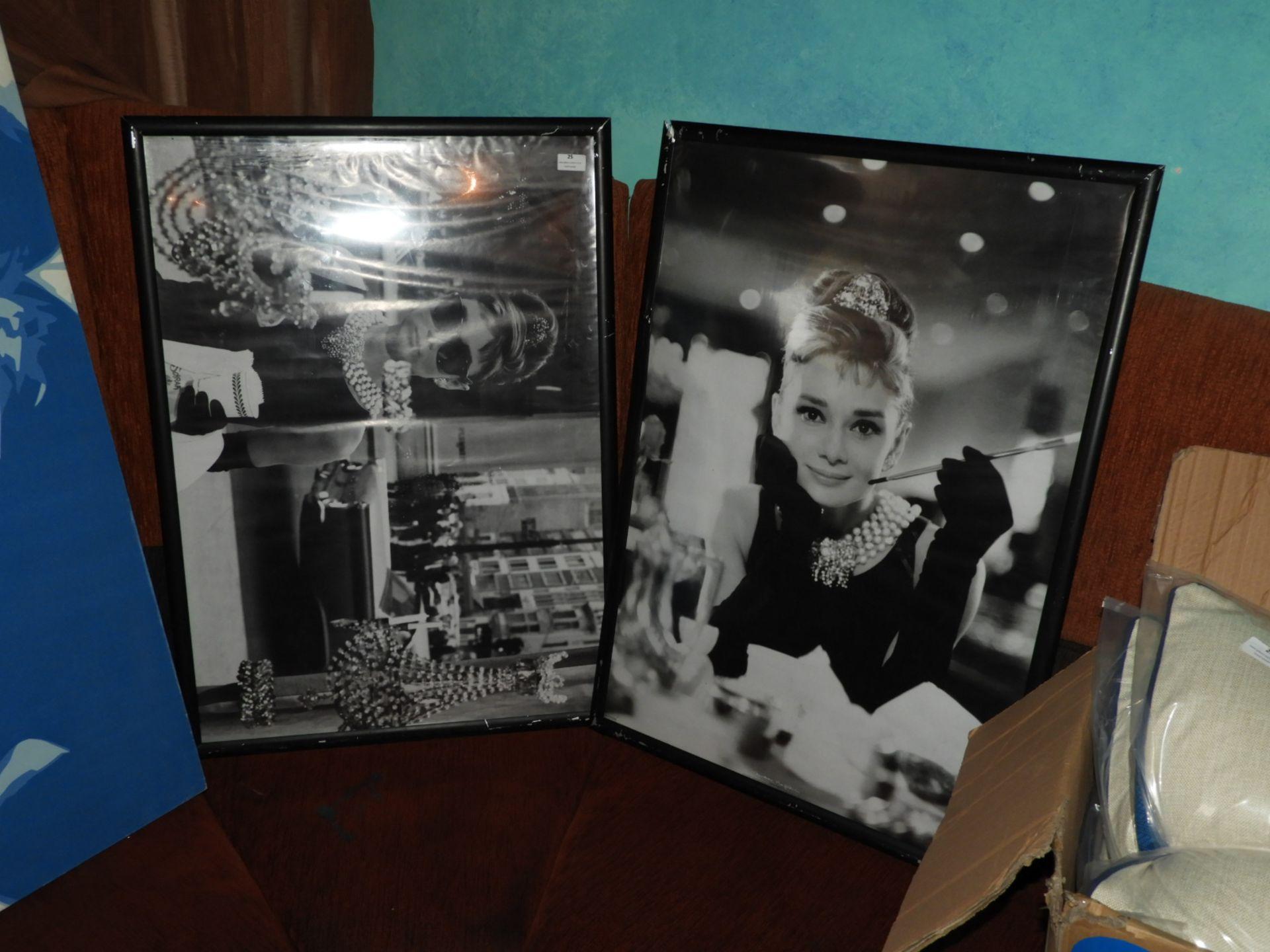 Lot 25 - *Two Poster Prints - Audrey Hepburn