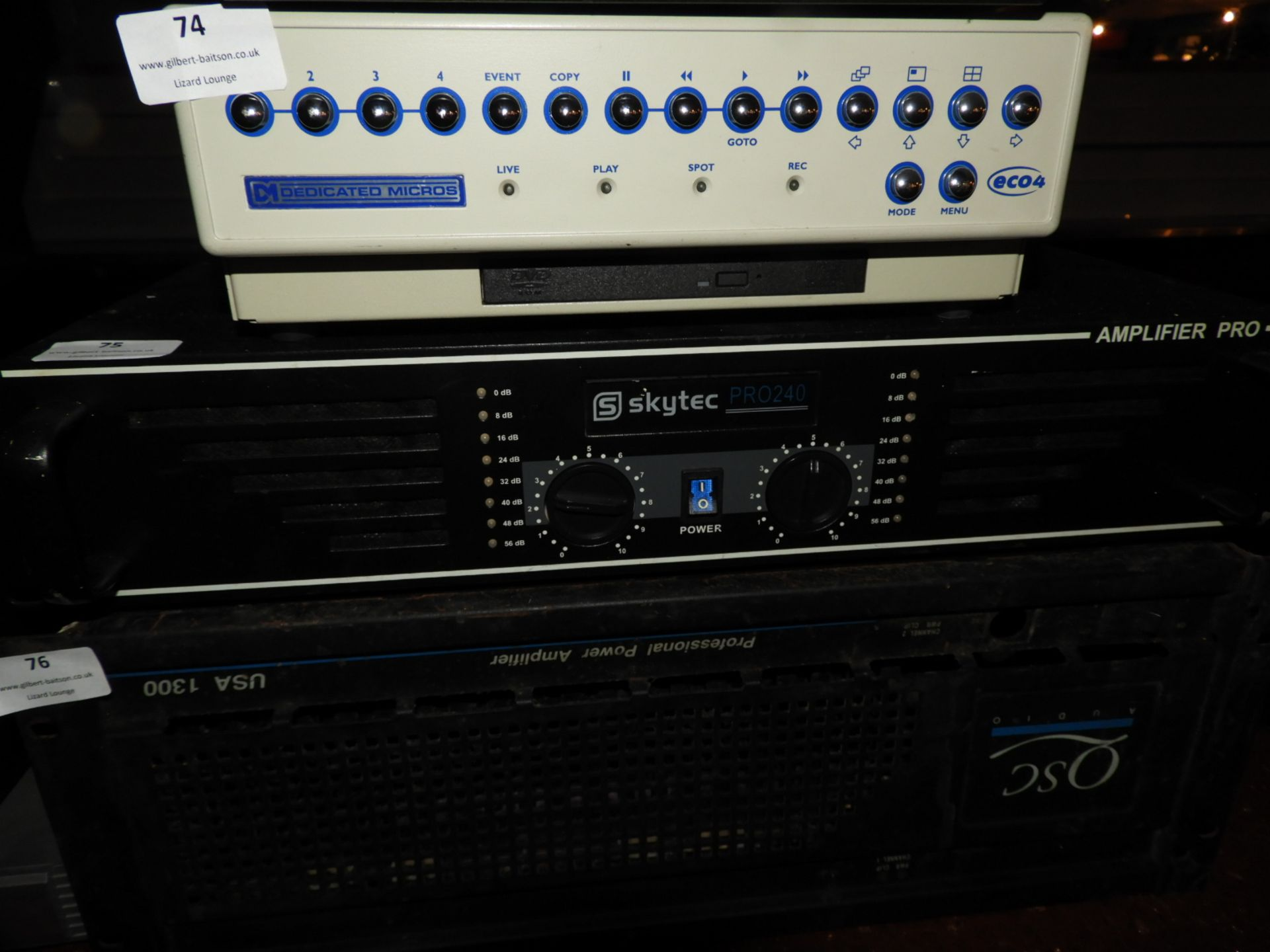 Lot 75 - *Sky Tech PR240 Amplifier