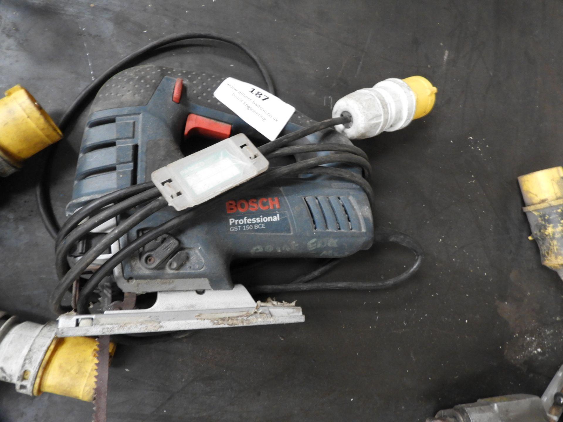Lot 187 - *Bosch GST150BCE 110V Jig Saw