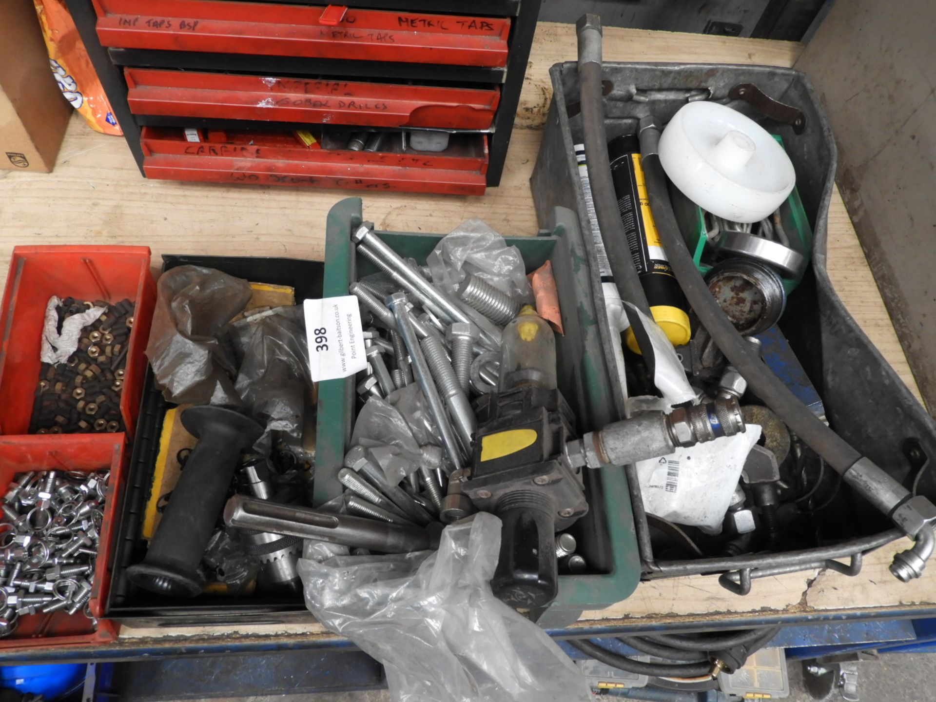 Lot 398 - *Four Boxes of Assorted Fixings
