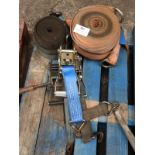 Lot 382 - *Assorted Ratchet Straps and Handles