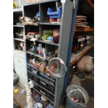 Lot 447 - *Set of Dexio Style Component Shelving Containing