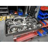 Lot 280 - *Fourteen Assorted Casters