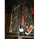 Lot 689 - *Contents of Drawer; Assorted Morse Taper Drill Bi