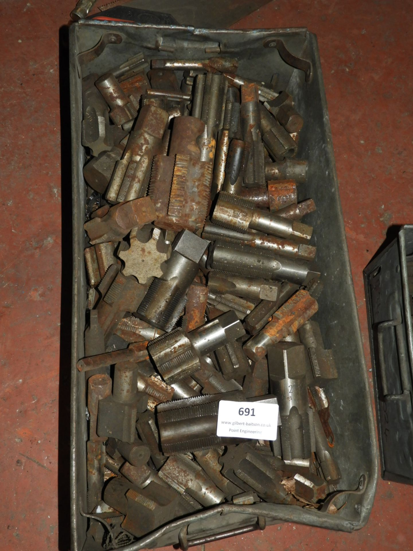 Lot 691 - *Box of Miscellaneous Reamers
