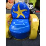 Lot 8 - *Children's Soft Play Seaside Throne