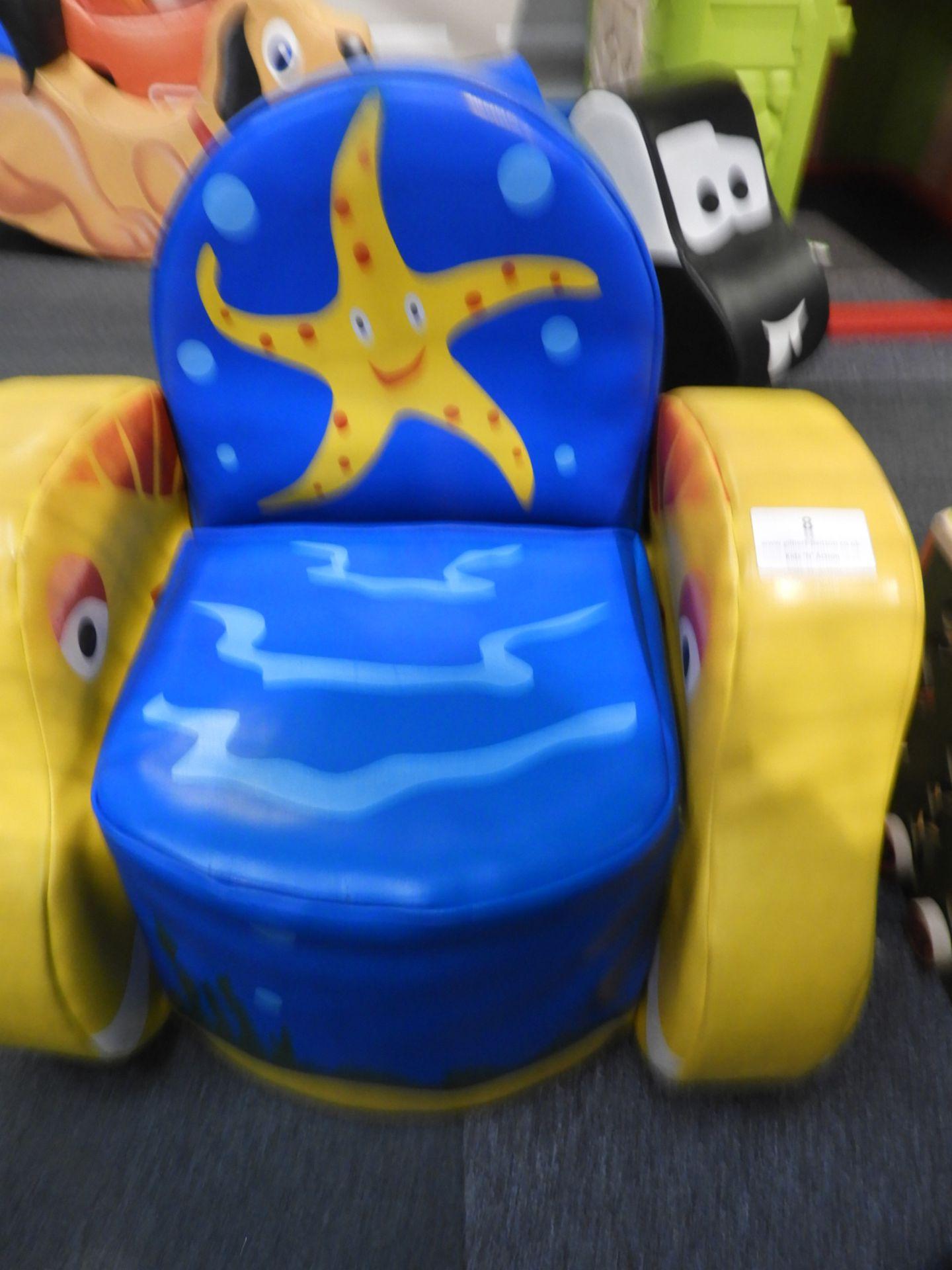 Lot 8 - *Children's Soft Play Seaside Throne