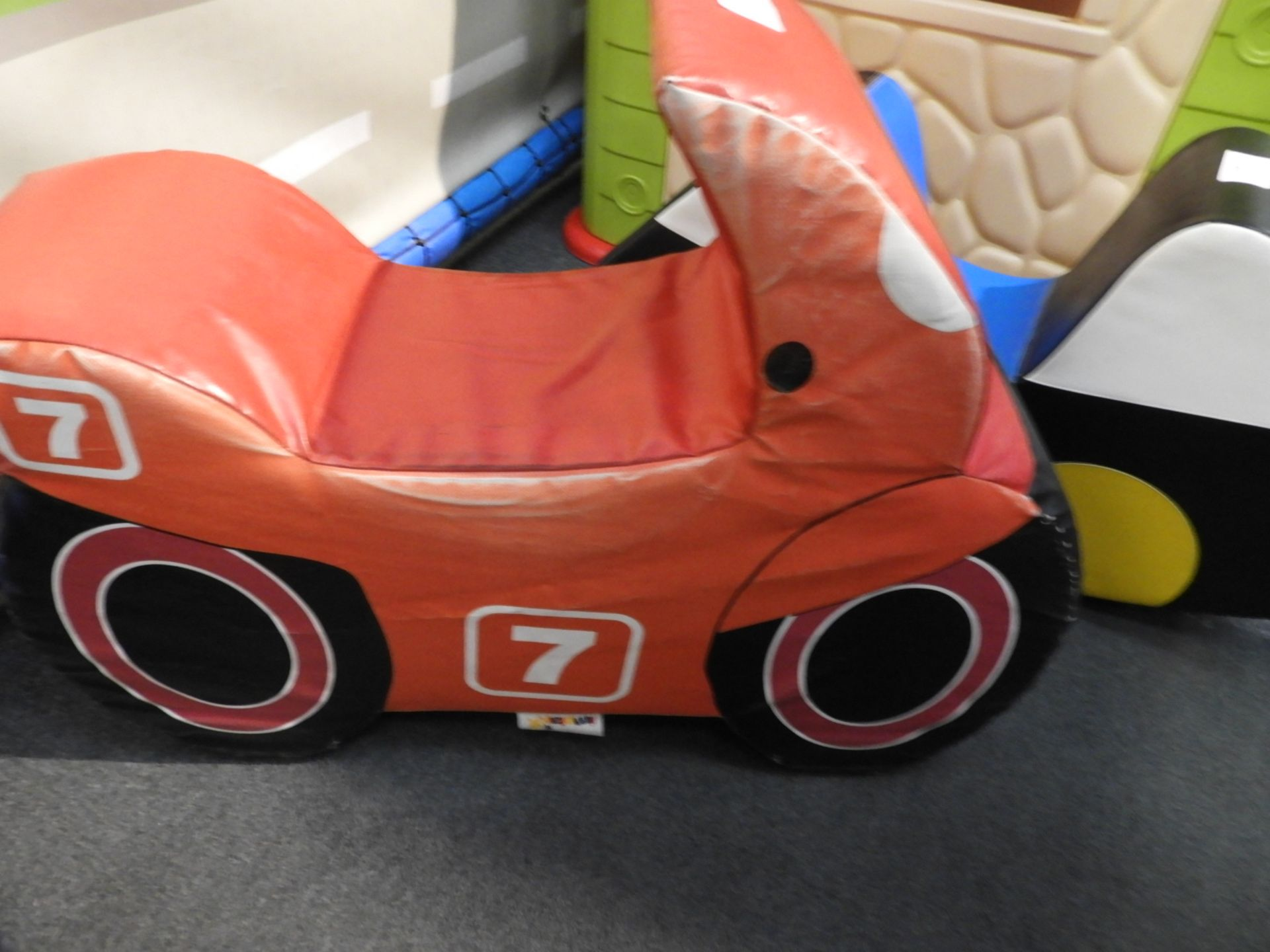 Lot 11 - *Children's Rocker in the form of a Motorcycle