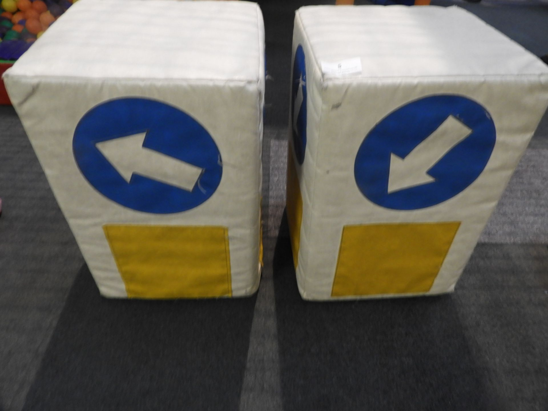Lot 5 - *2 Soft Play Road Bollards