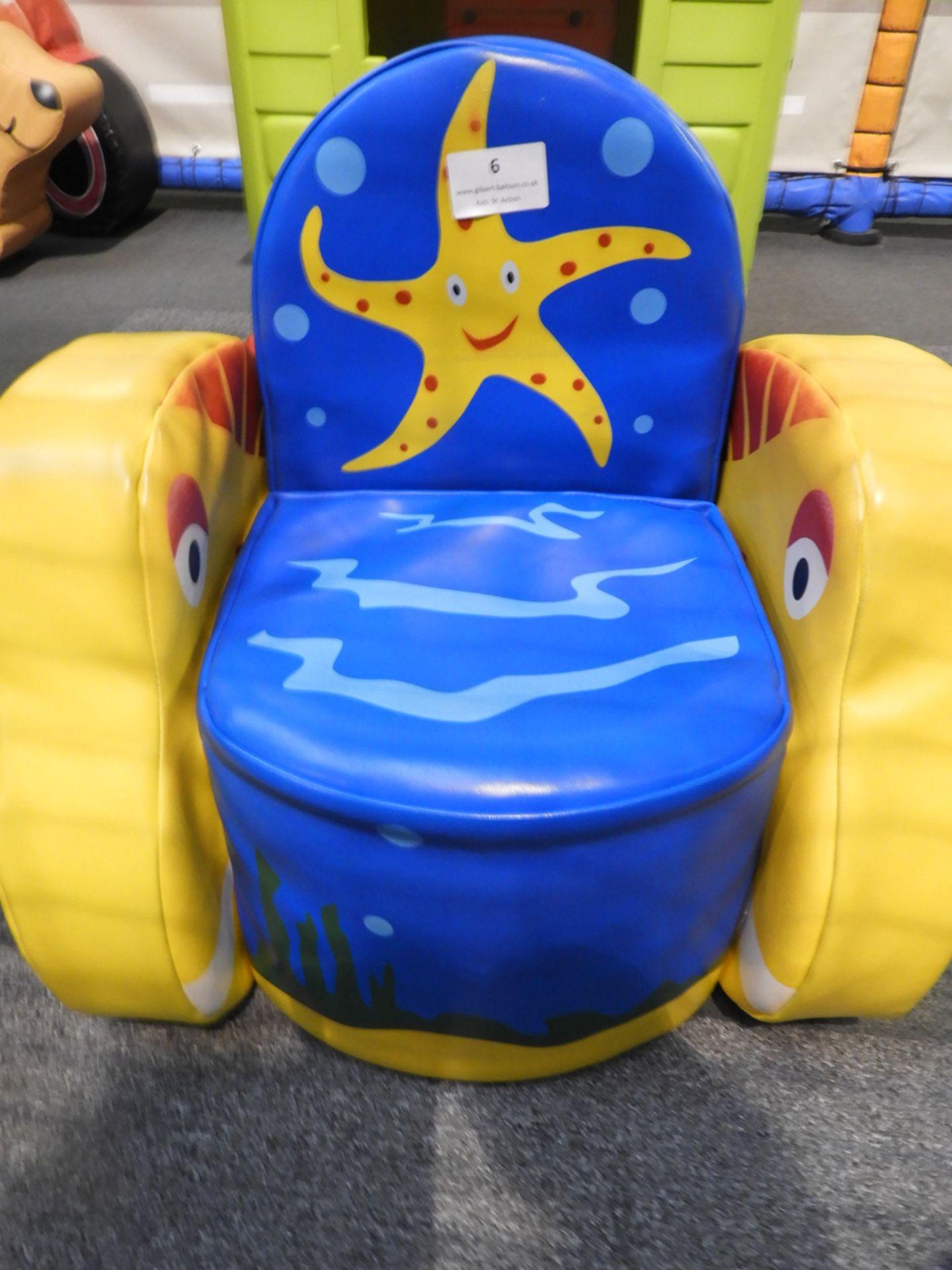 Lot 6 - *Star Fish Soft Play Chair