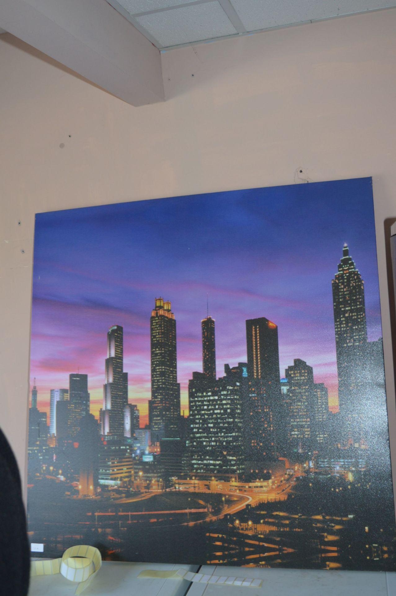 Lot 10a - Canvas Print - New York Skyline