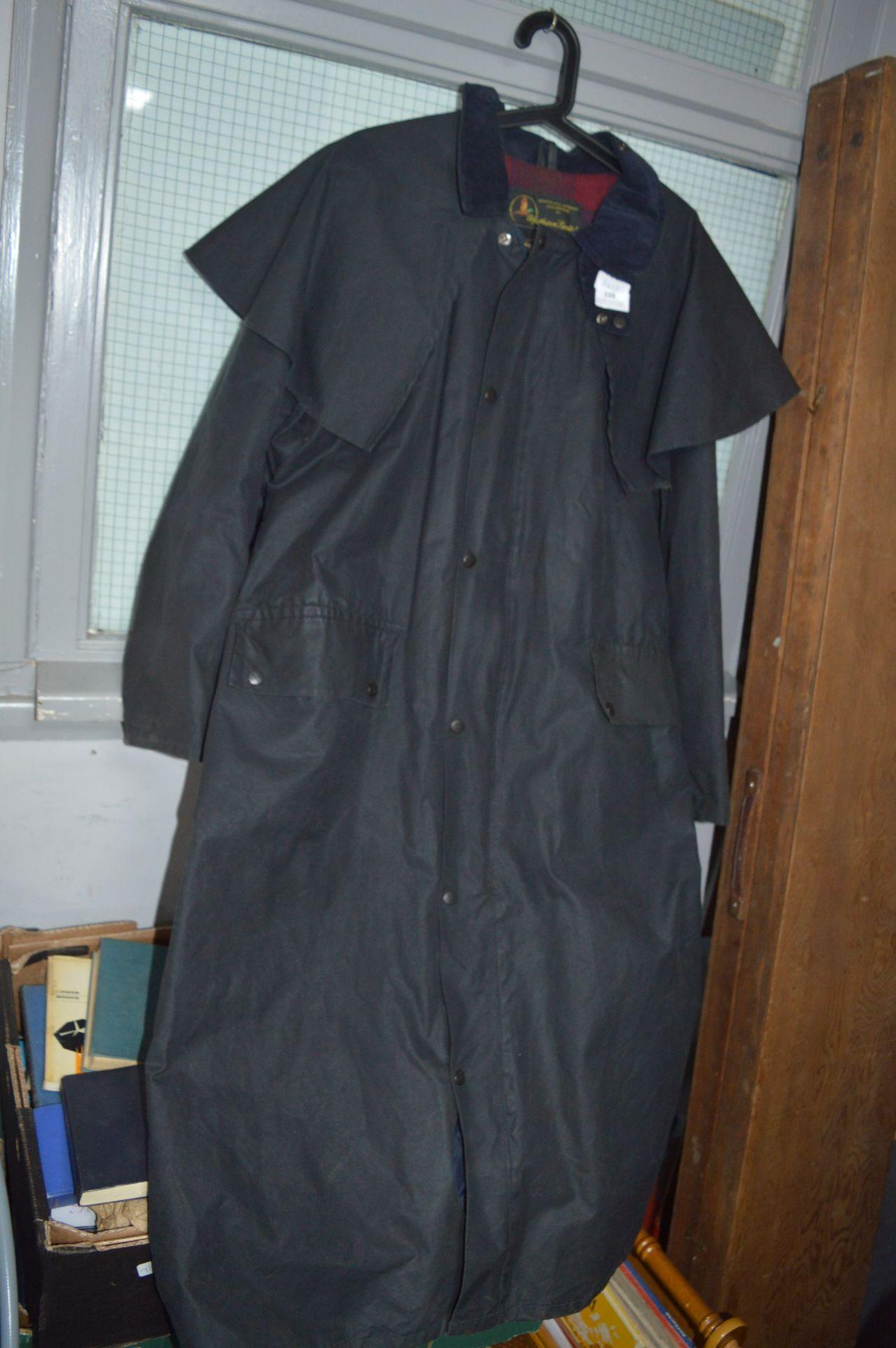 Lot 139 - Waxed Stockman Coat Size Large