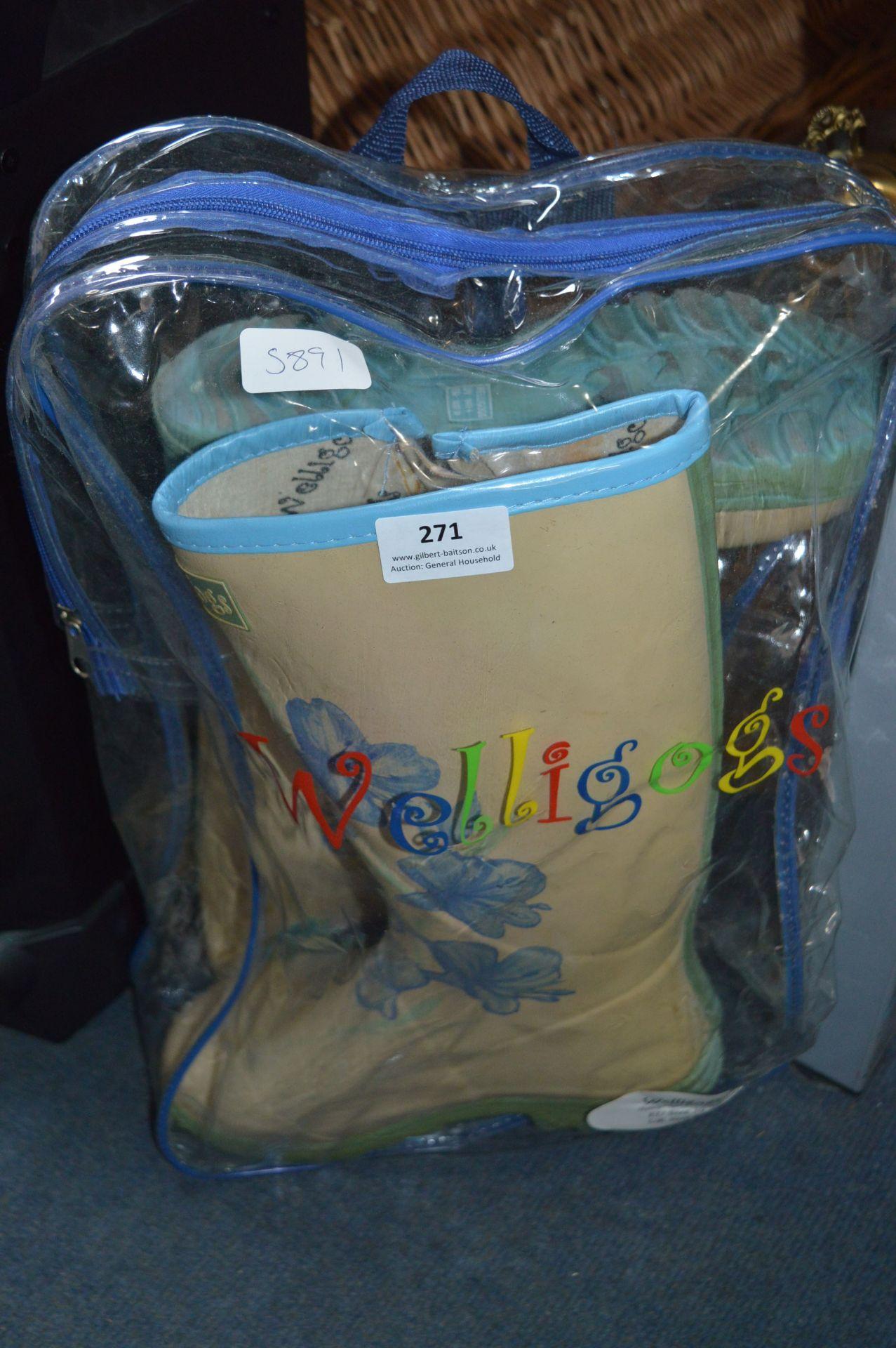 Lot 271 - Pair of Wellington Boots