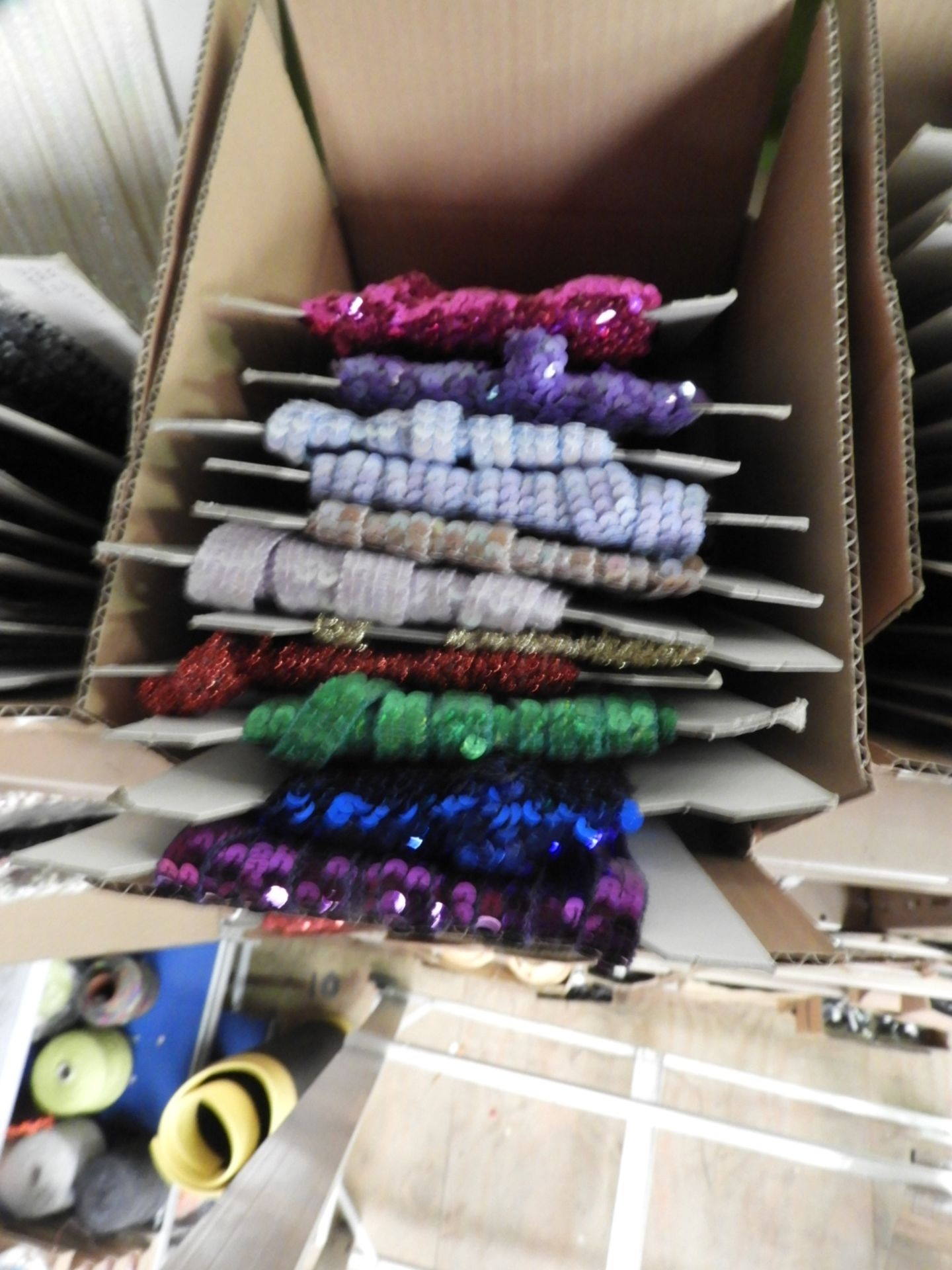 Lot 3 - Box Containing Assorted Braids (as per Photograph)