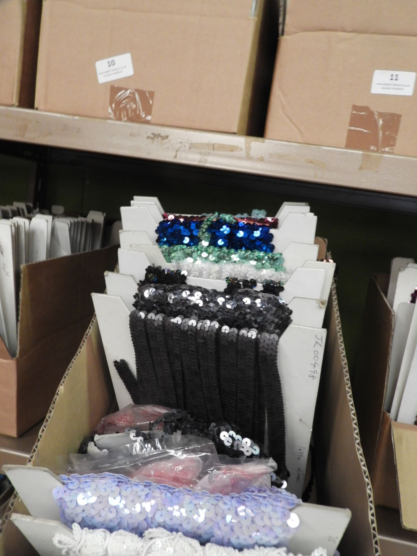 Lot 42 - Box Containing Assorted Braids (as per Photograph)