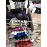Lot 51 - Box Containing Assorted Braids (as per Photograph)