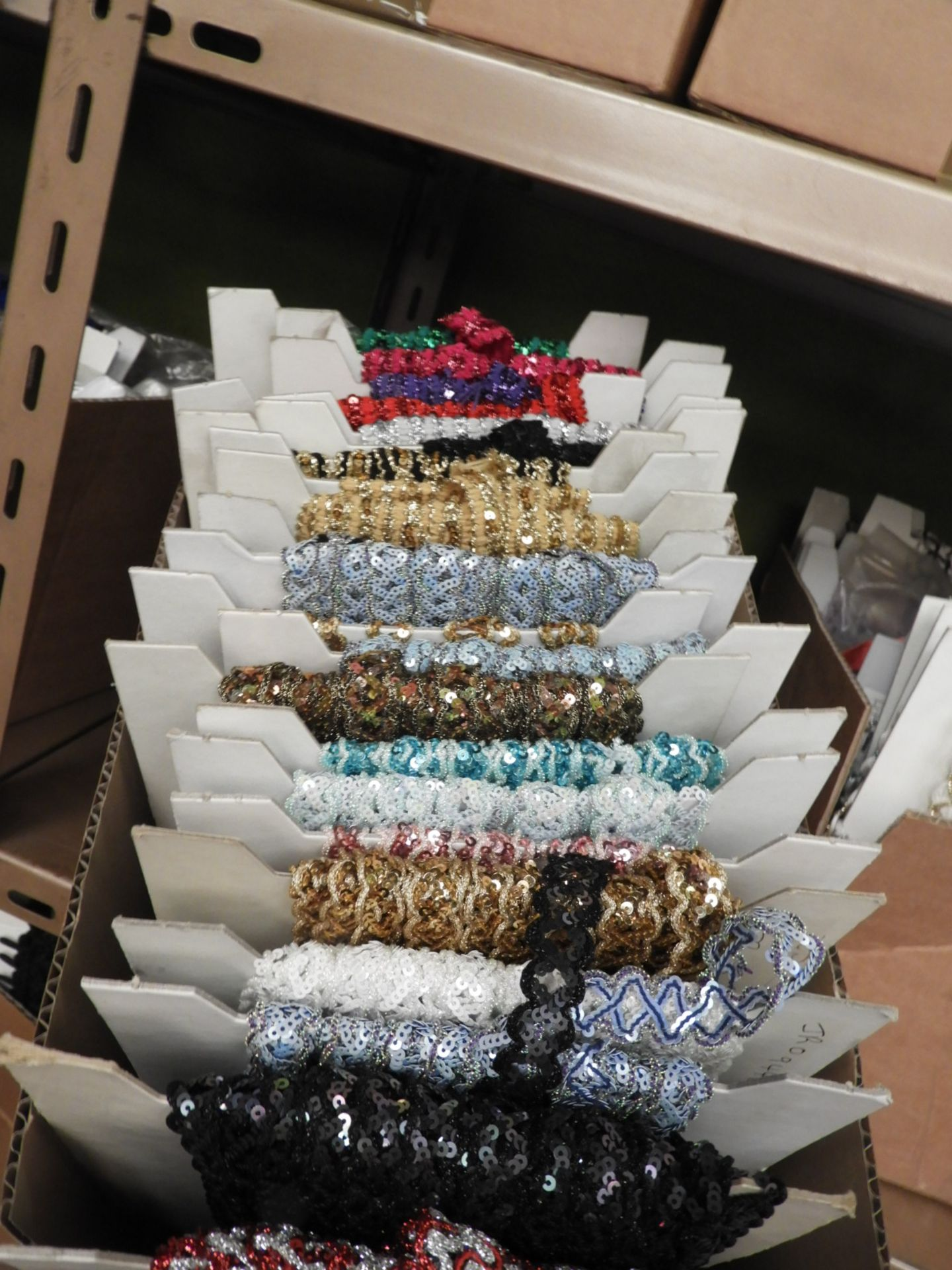Box Containing Assorted Braids (as per Photograph)