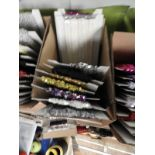 Lot 2 - Box Containing Assorted Braids (as per Photograph)