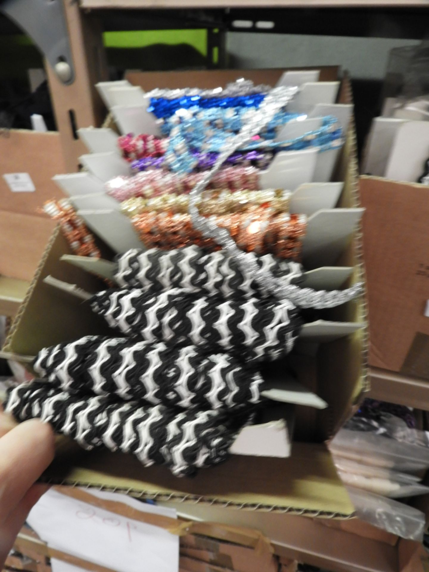 Lot 37 - Box Containing Assorted Braids (as per Photograph)