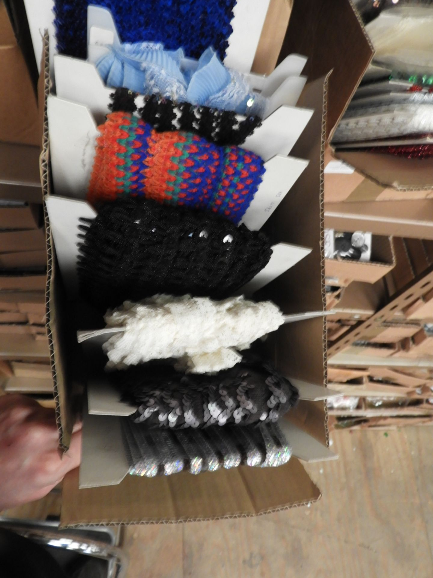 Lot 55 - Box Containing Assorted Braids (as per Photograph)