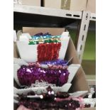 Lot 41 - Box Containing Assorted Braids (as per Photograph)