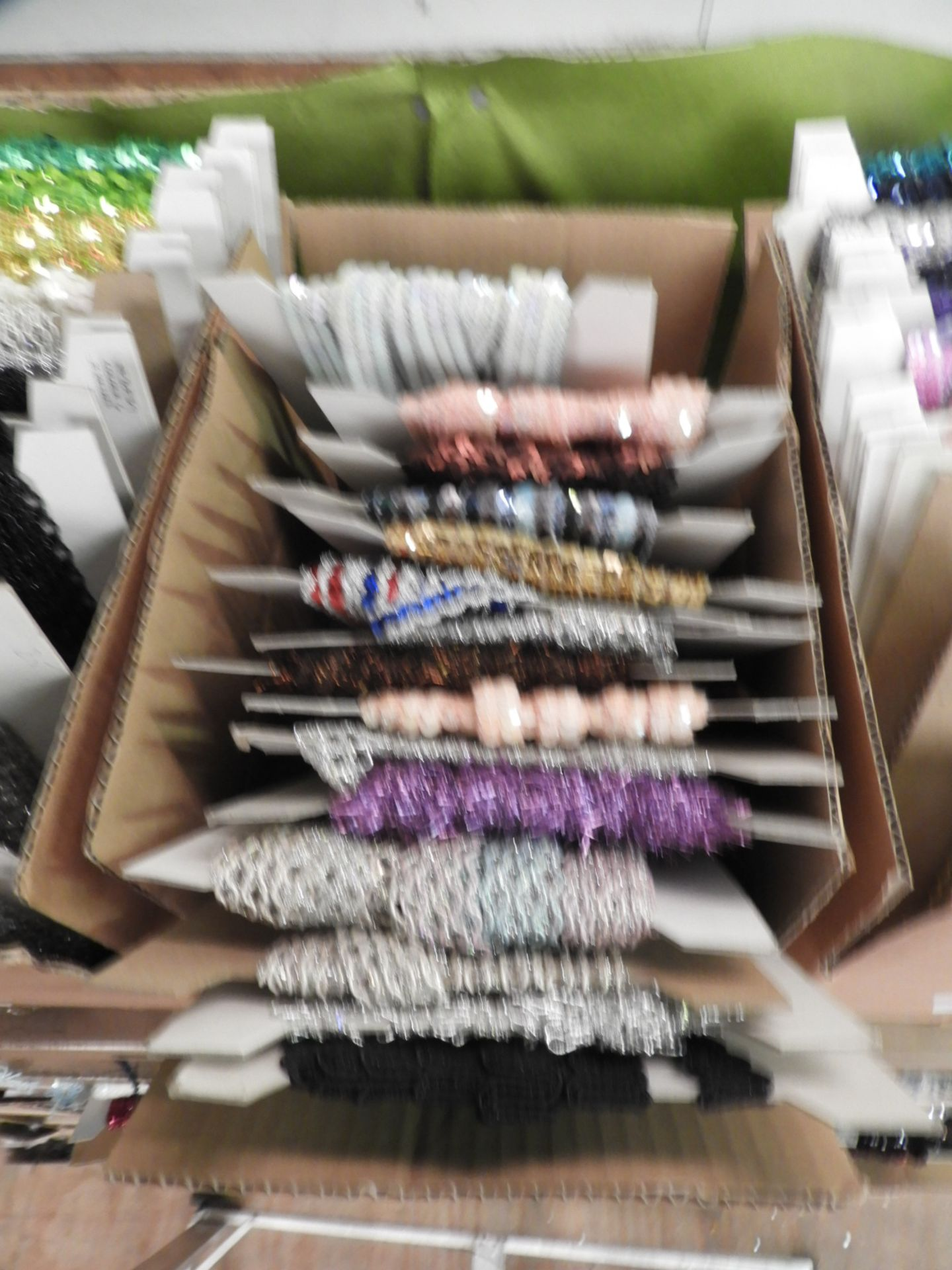 Lot 9 - Box Containing Assorted Braids (as per Photograph)