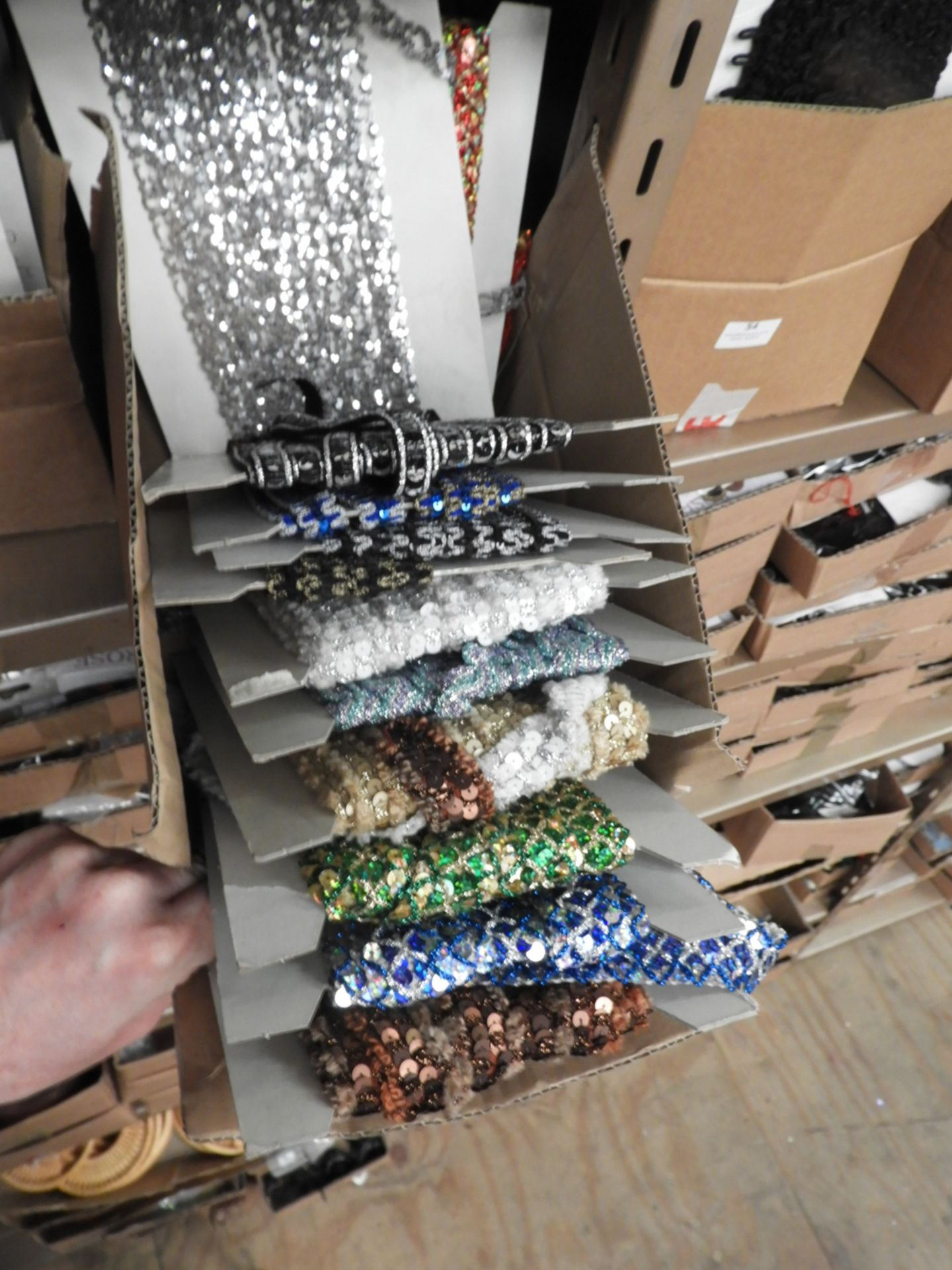 Lot 53 - Box Containing Assorted Braids (as per Photograph)
