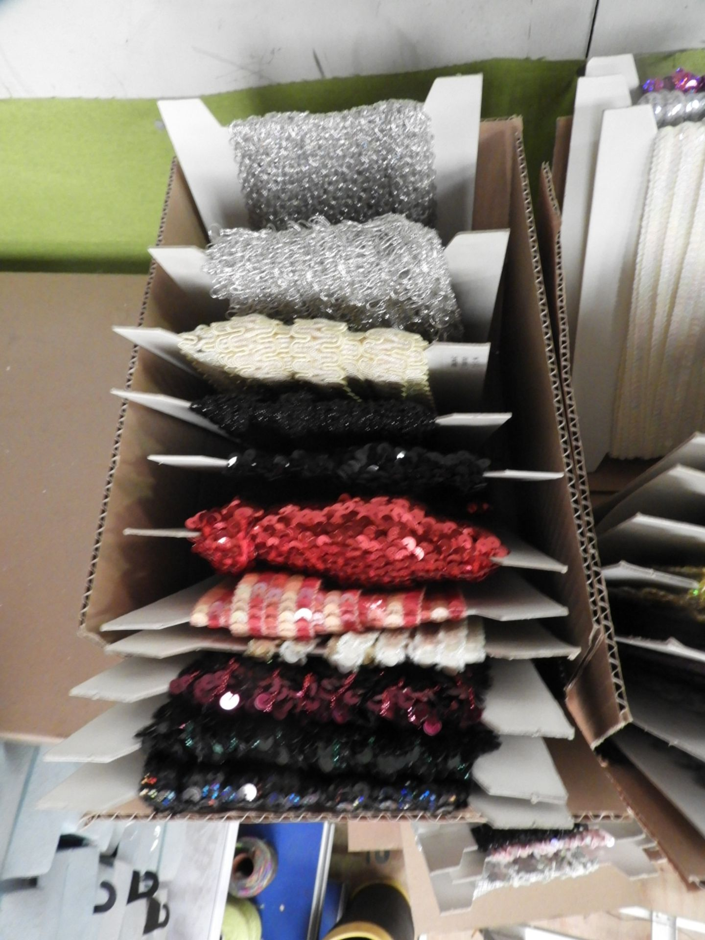 Lot 1 - Box Containing Assorted Braids (as per Photograph)