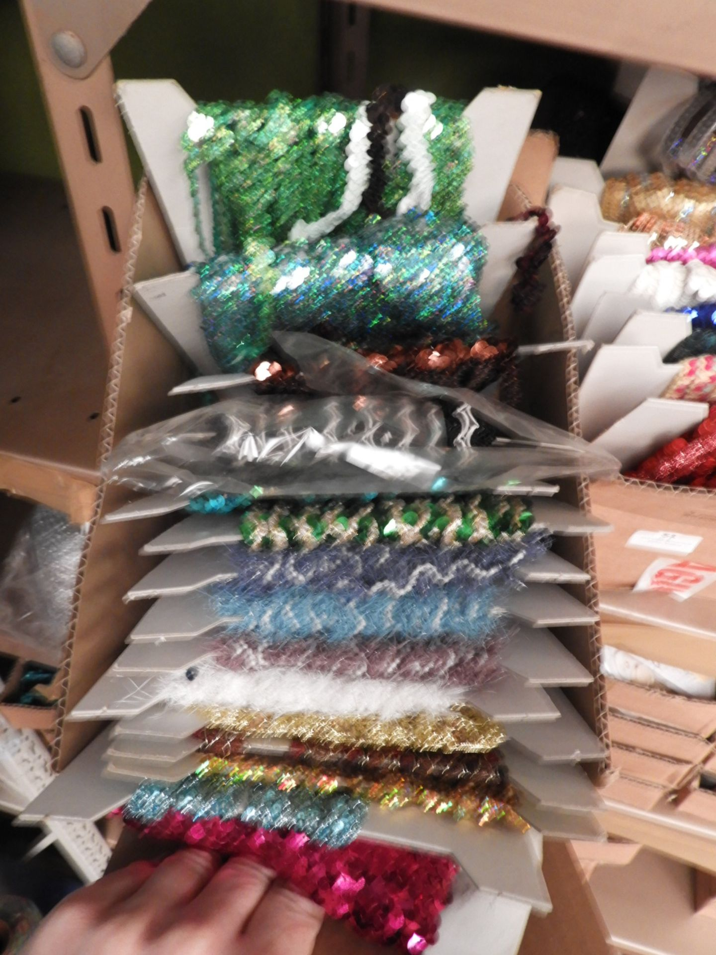 Lot 50 - Box Containing Assorted Braids (as per Photograph)
