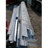 *Pallet of Plastic, Metal and Wire Ducting