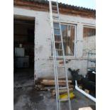 Youngman Mercury 30 Tread Extending Alloy Ladder