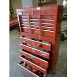 Clarke Portable Tool Chest with Contents of Vario