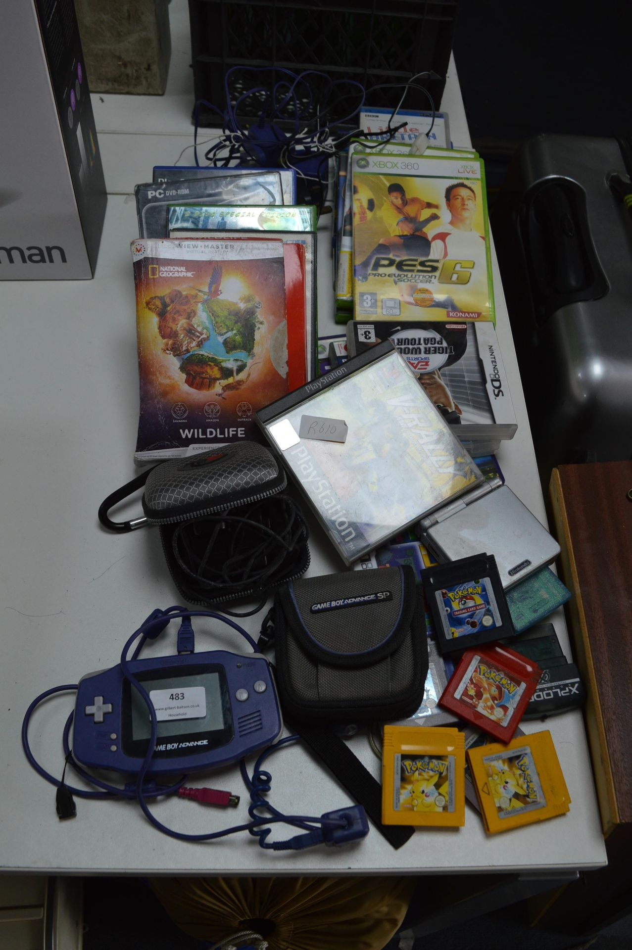 Lot 483 - Game Boy and an Assortment of Games