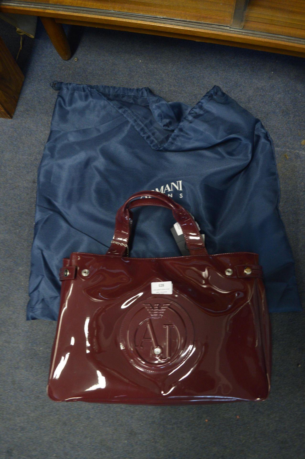 Lot 528 - *Armani Jeans Tote Bag