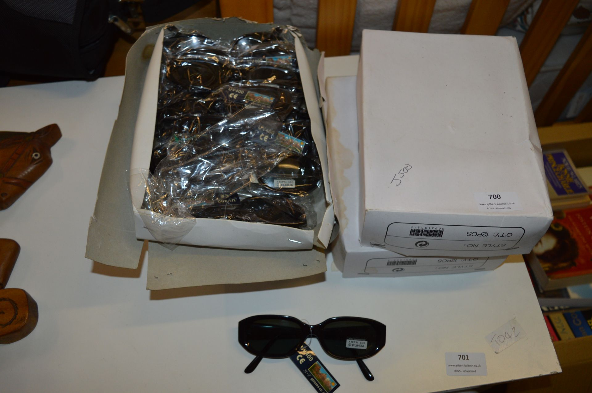 Lot 700 - Four Boxes of Sunglasses