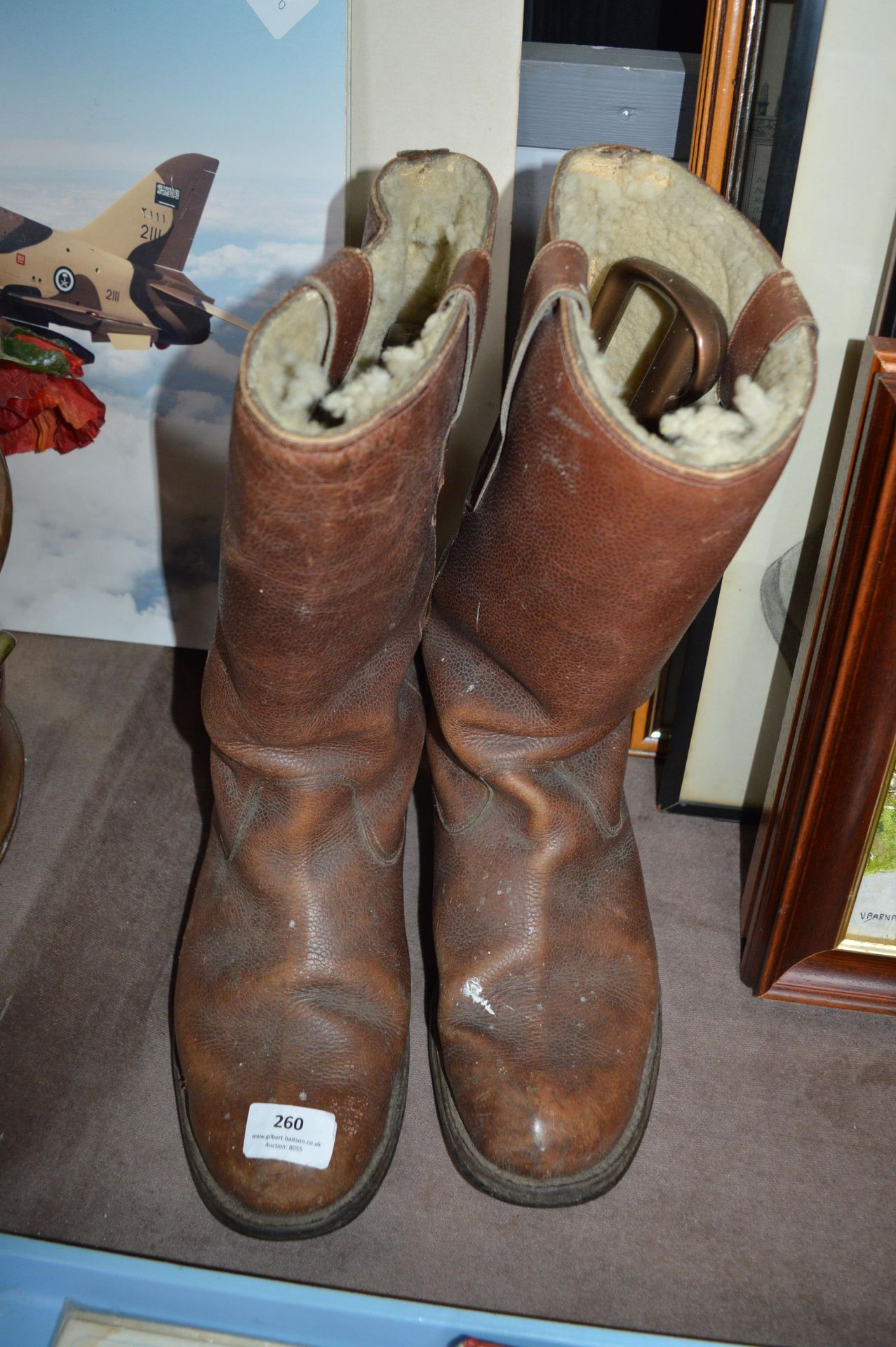 Lot 260 - Pair of Leather Working Boots