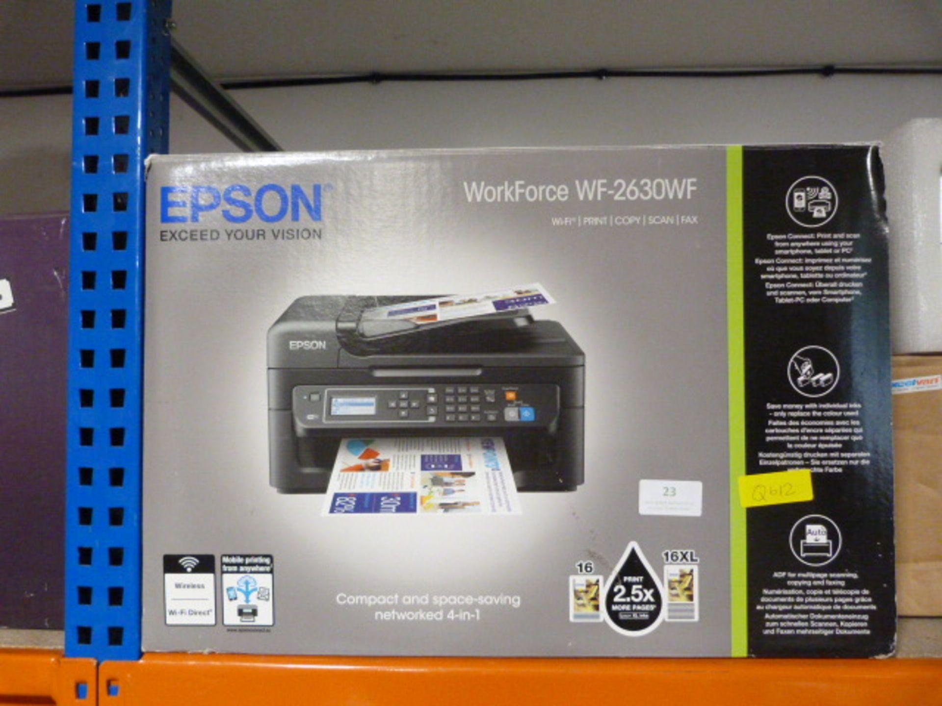 Lot 23 - Epson WF-2630 Printer