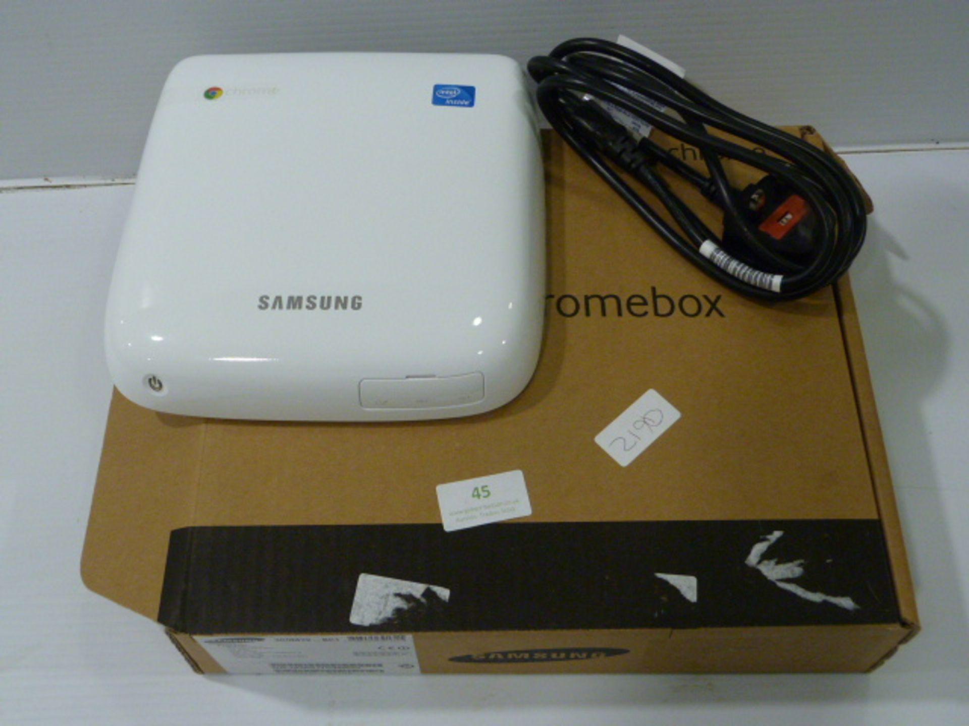 Lot 45 - Samsung Chromebox