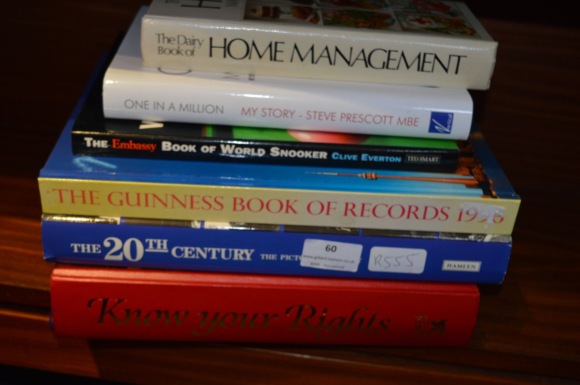 Lot 60 - Small Collection of Hardback Books