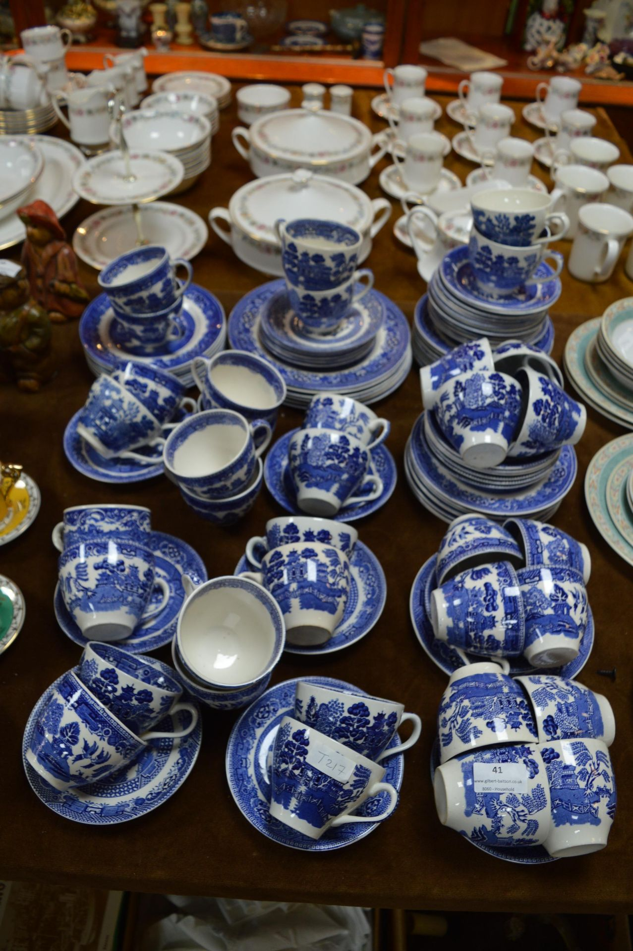 Lot 41 - 90+ Pieces of Blue & White China
