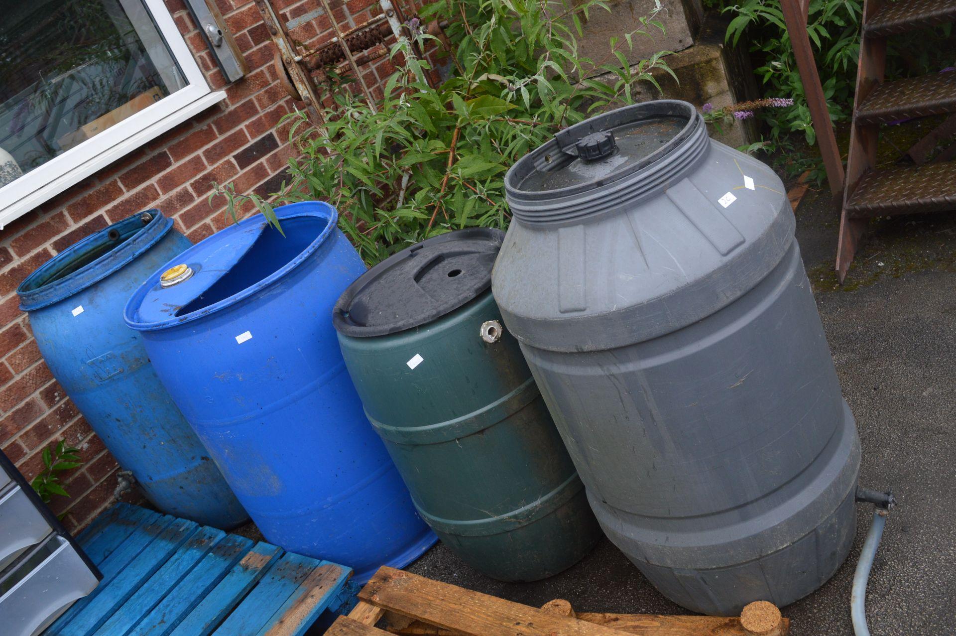 Lot 2c - Four Water Barrels