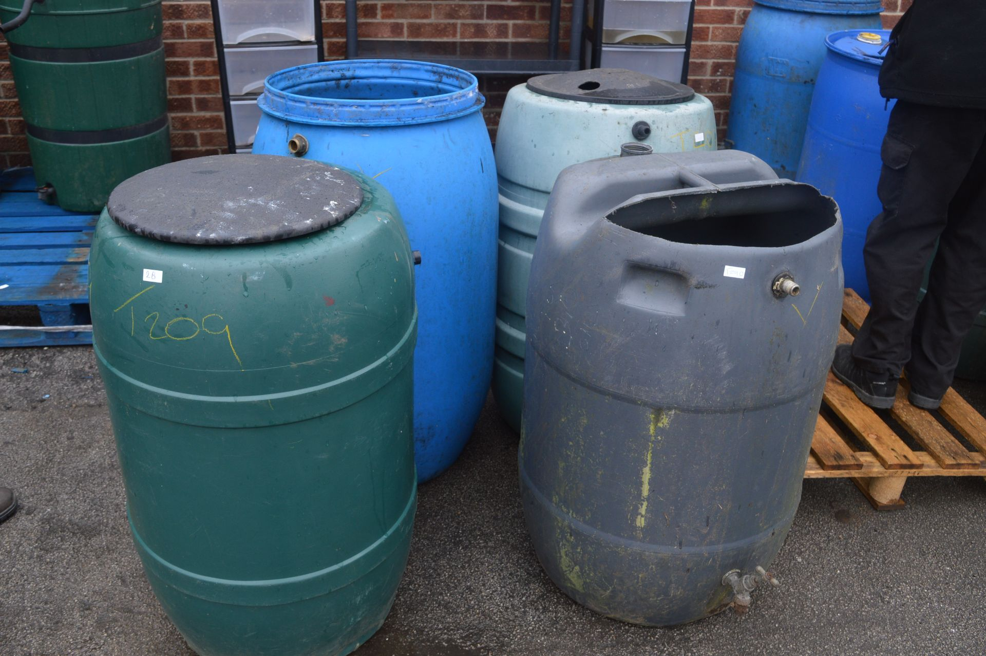 Lot 2b - Four Water Butts