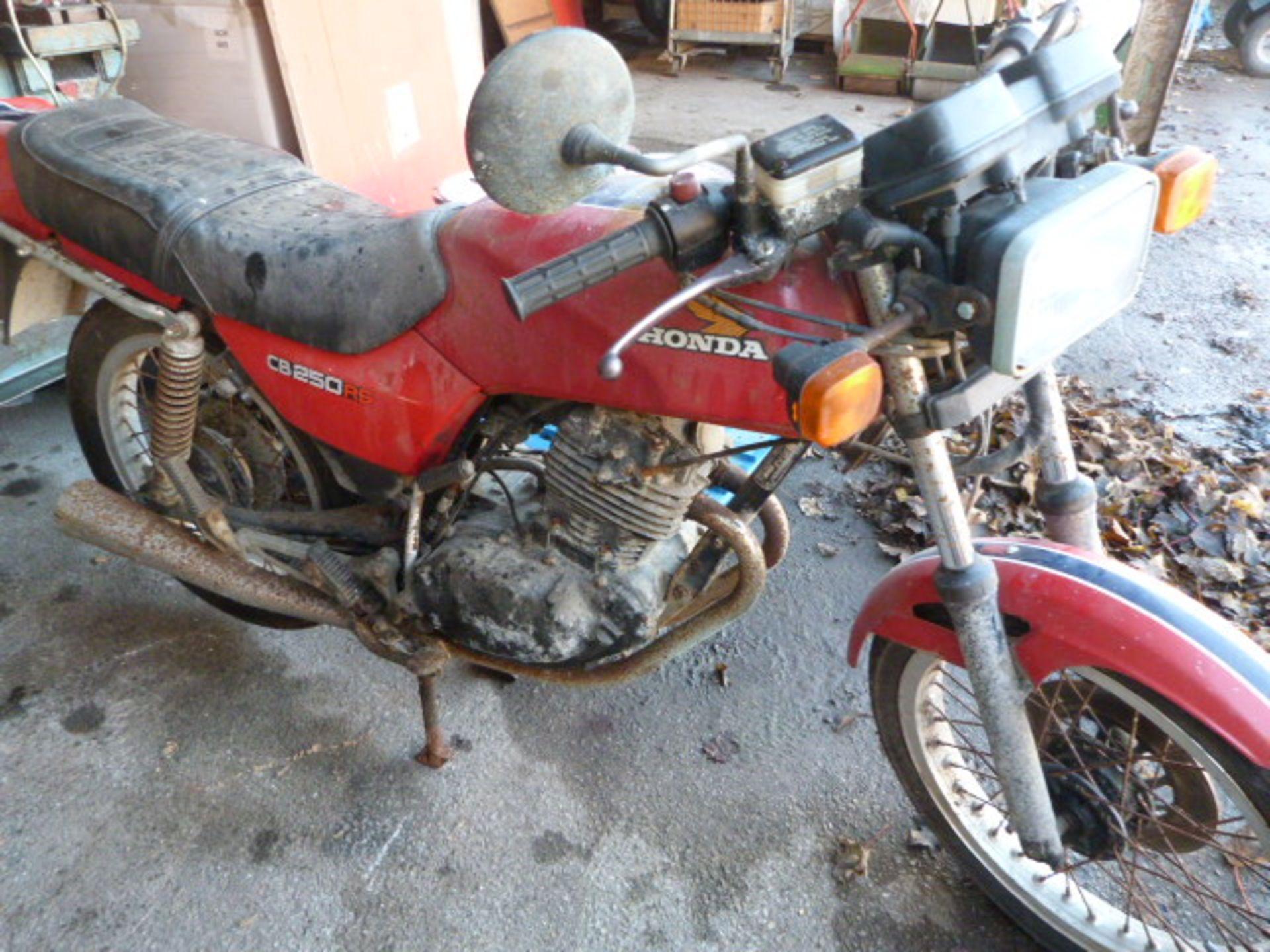 Lot 265a - Honda CB250RS Motorbike