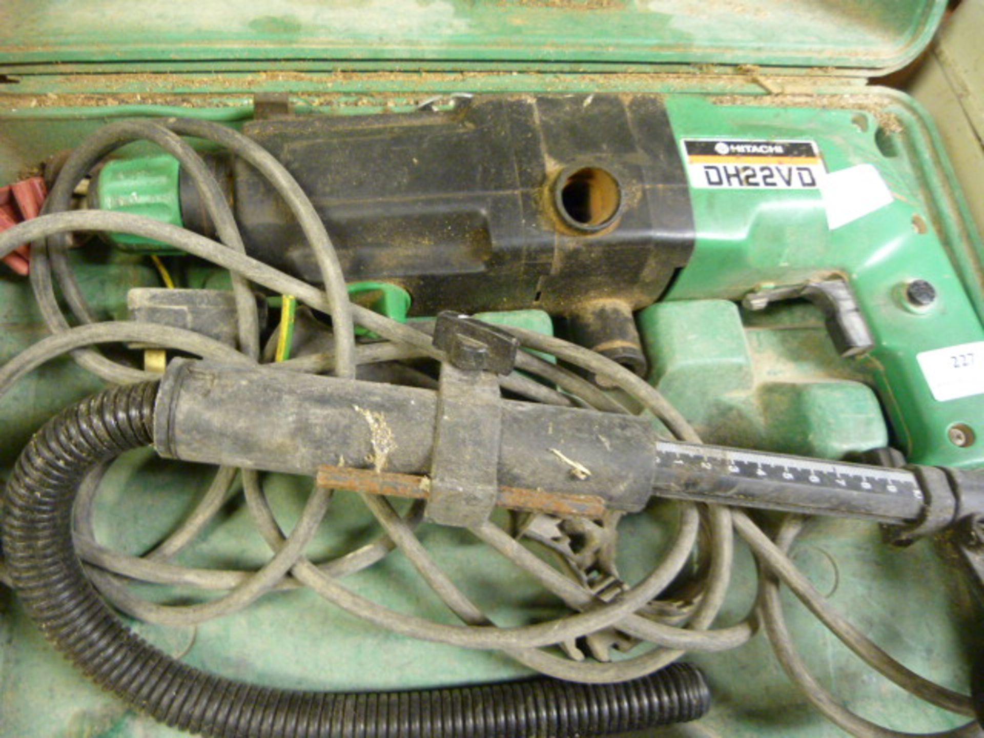 Lot 227 - Hitachi Hammer Drill